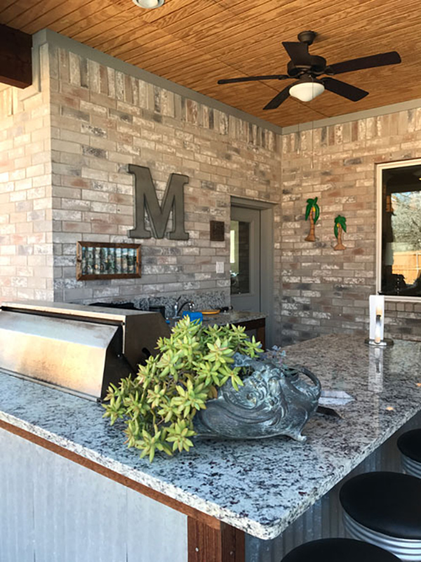 We Recently Had The Opportunity To Visit With McDaniel Family In Fort Worth Their Home Is Amazing And They Did An Awesome Job Both Design