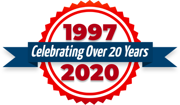 1997-2020 Celebrating Over 20 Years